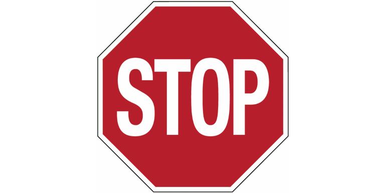 Stop! Het is rood!